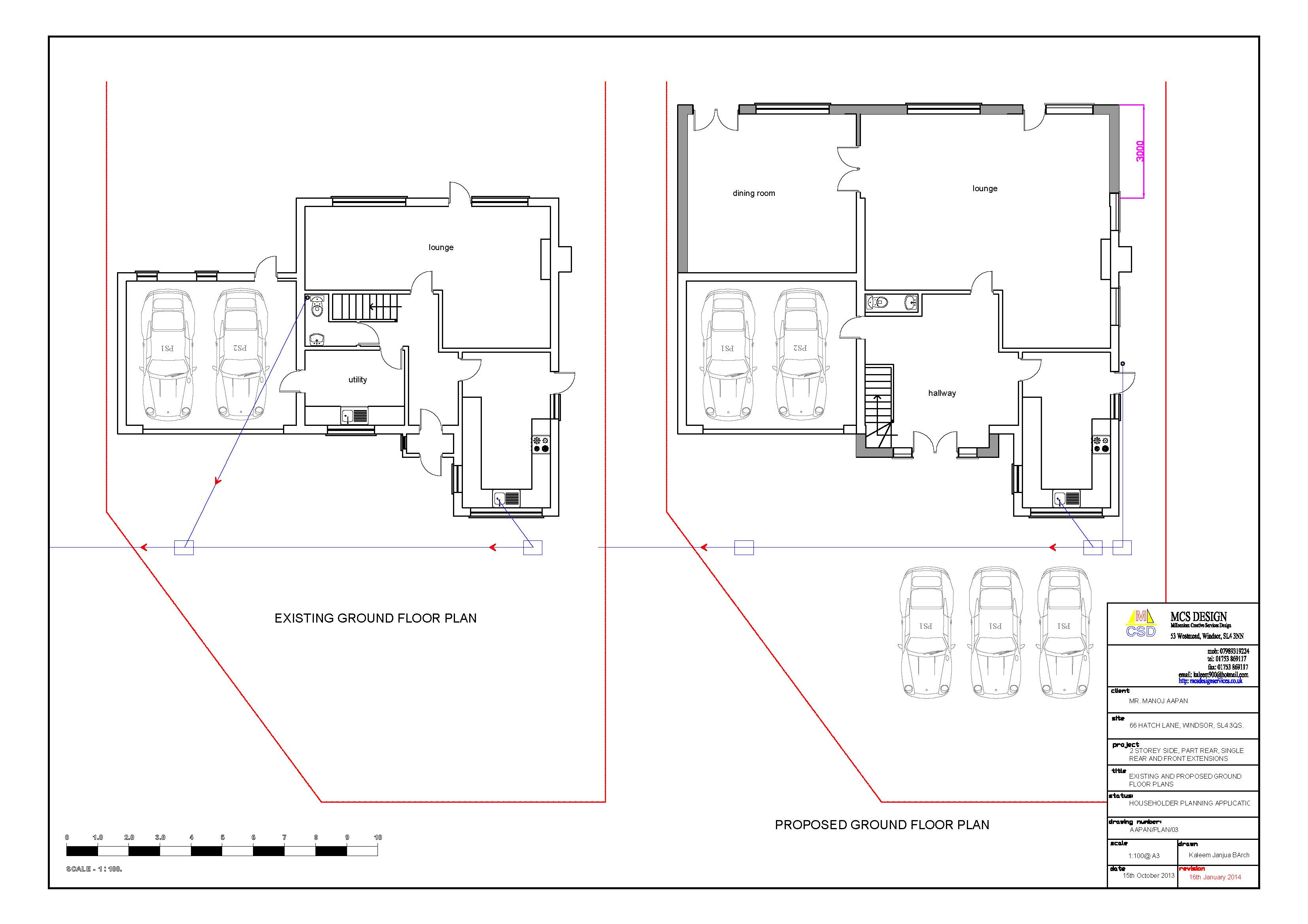 Proposed floor plan for a best free home design idea for Floor plans for existing homes