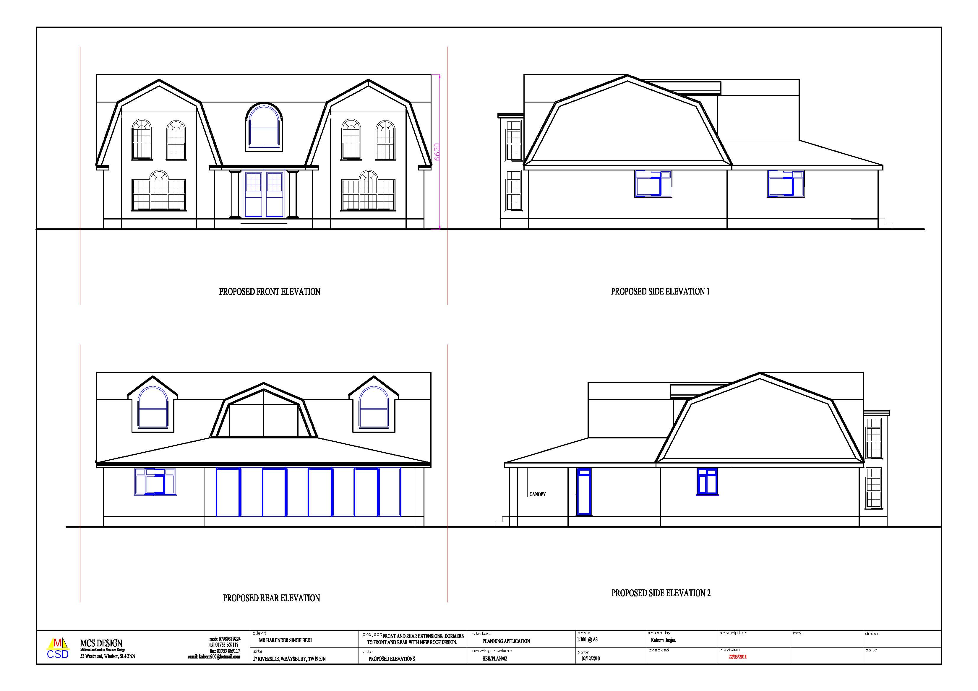 Permitted Development M C S Designs